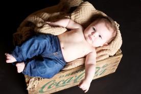 Séance photo bébé en studio