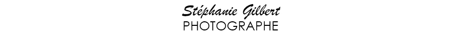 stephanie gilbert photographe basé à saint-georges logo