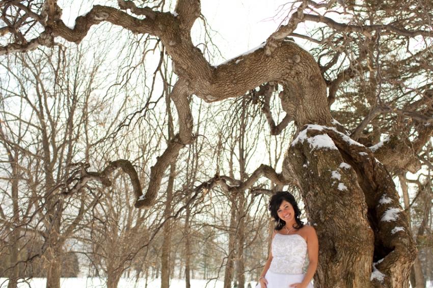 mariée au parc du bois-de-coulonge