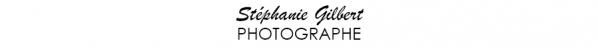 stephanie gilbert photographe basé à saint-georges logo